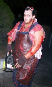 chainsaw guy
